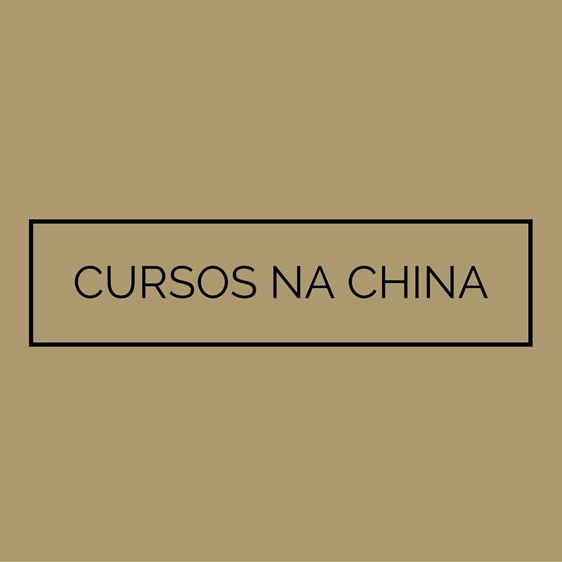 CURSOS NA CHINA