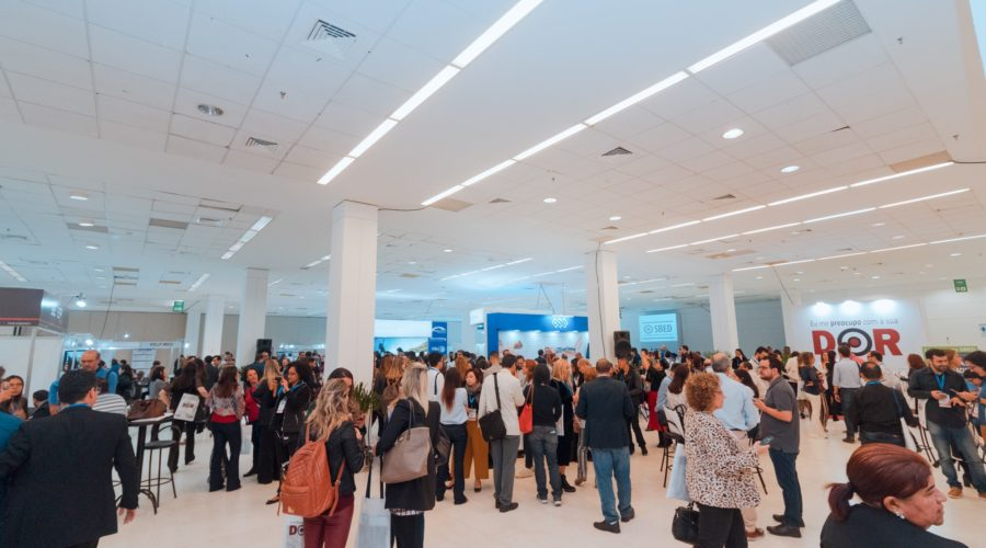 Congresso Brasileiro de Dor da SBED reuniu mais de 2000 participantes