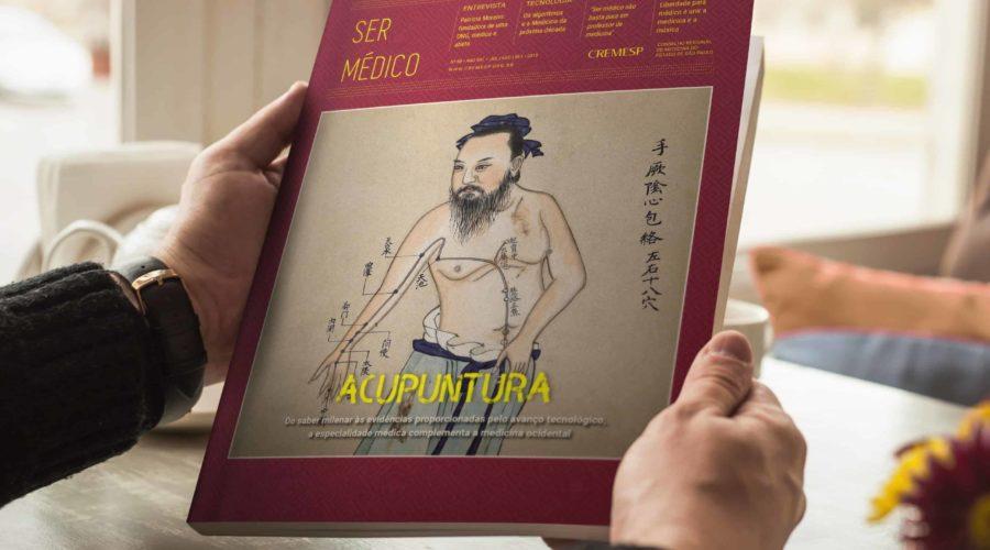 CREMESP traz Acupuntura como destaque da revista Ser Médico