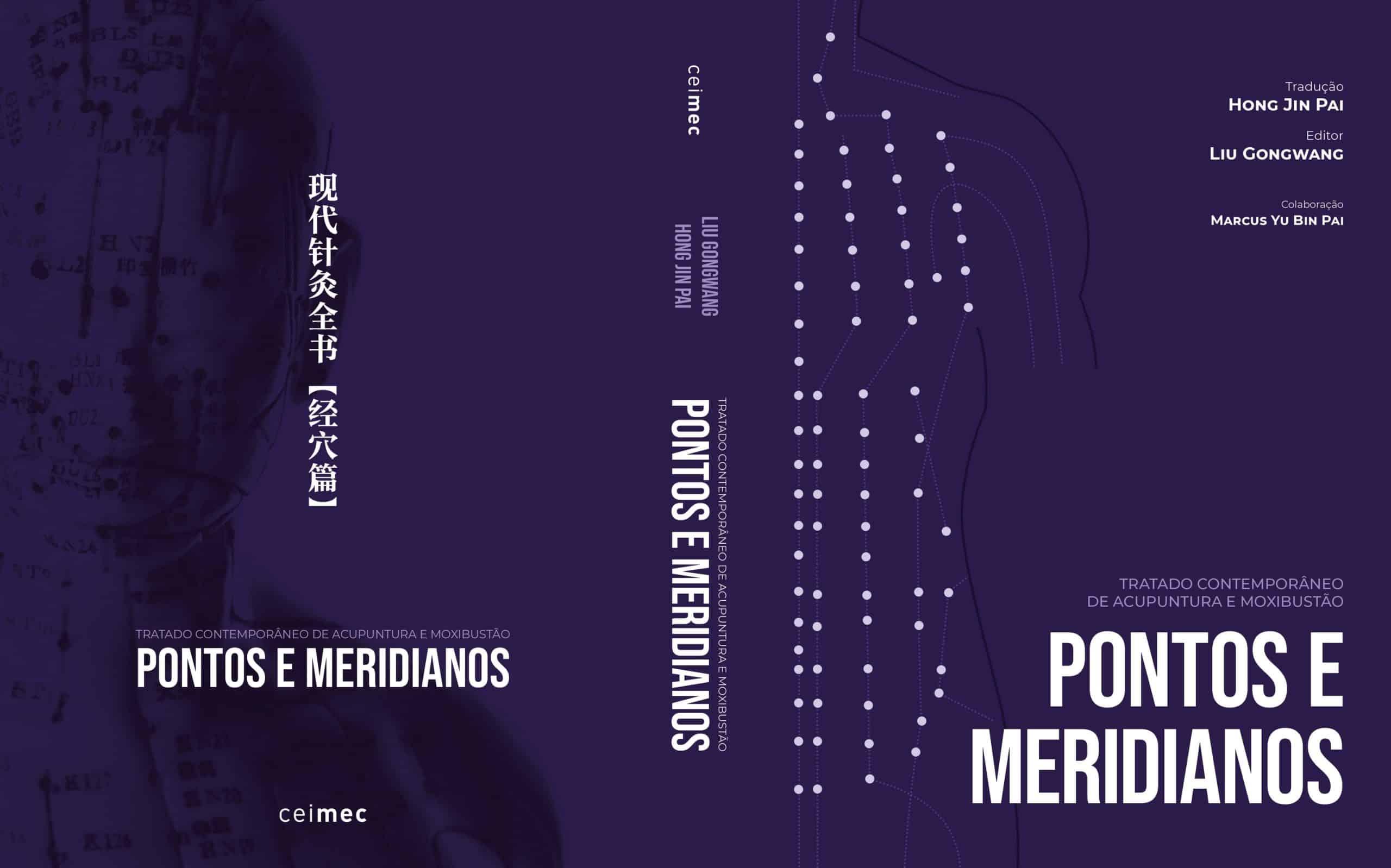 Livro Pontos e Meridianos Acupuntura CEIMEC 2020