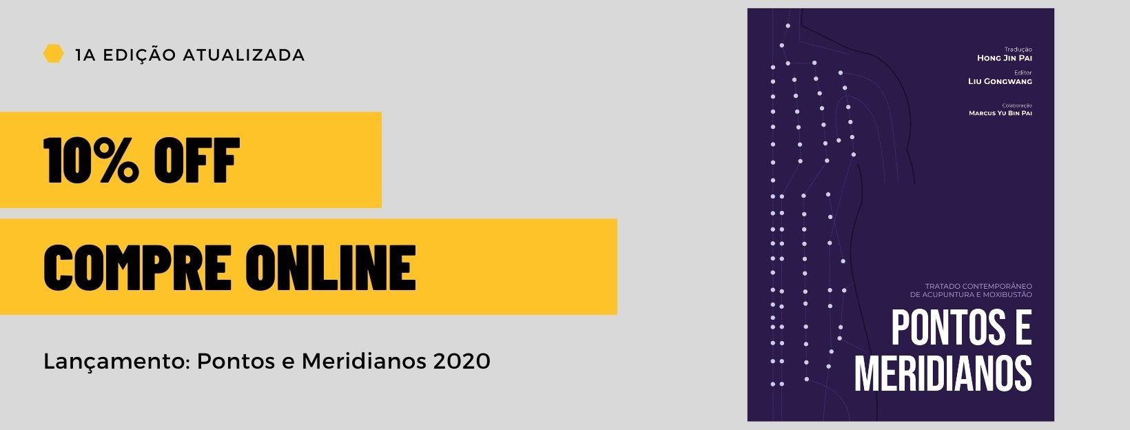 Pontos e Meridianos 2020 Compre agora